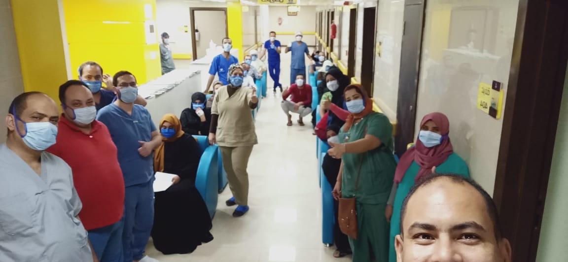 الأقصر تسجل حالات الشفاء يوميا بمستشفيات العزل