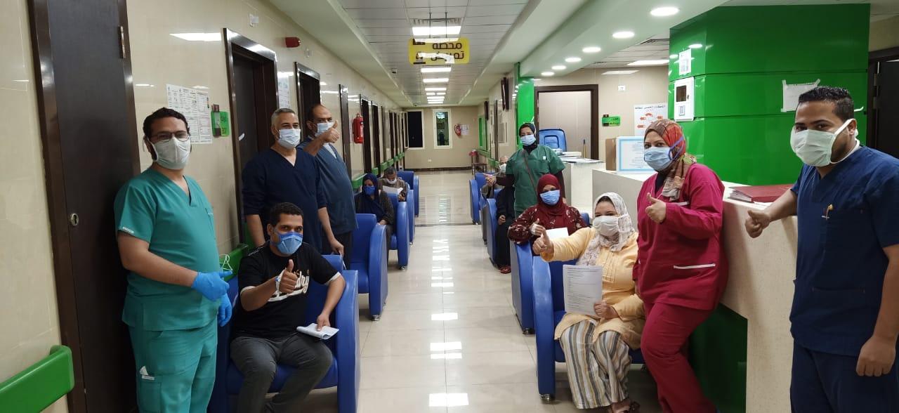 مستشفى إسنا للحجر الصحى تعلن خروج 9 حالات