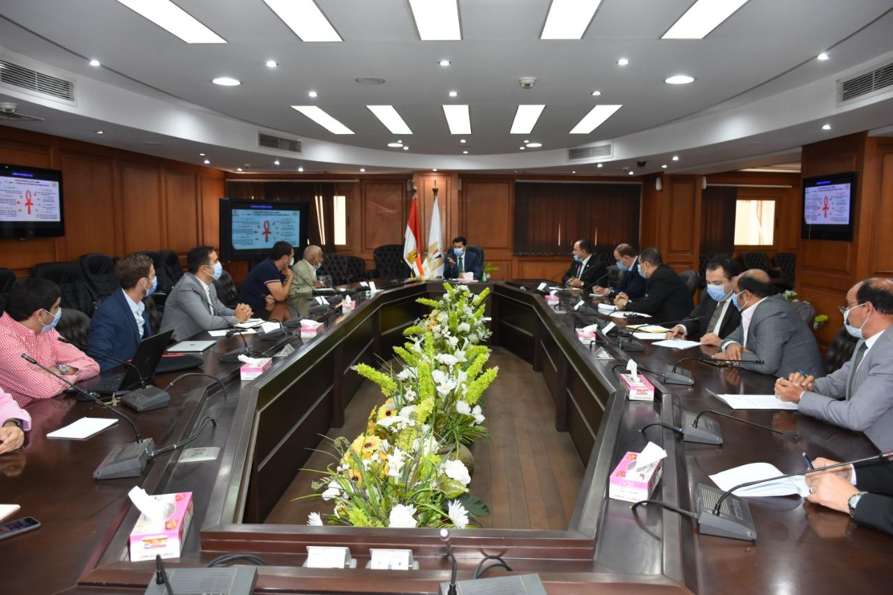 اجتماع الوزير مع لجنة اليد