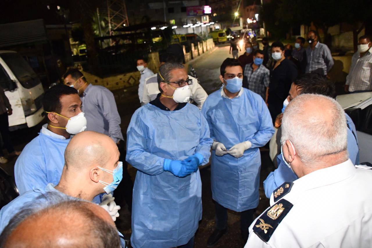 محافظ الفيوم يفاجئ المستشفى العام (2)
