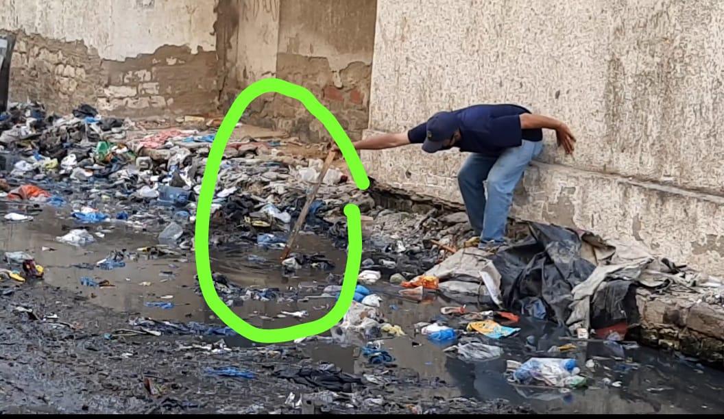 القمامة بمساكن المتراس (2)
