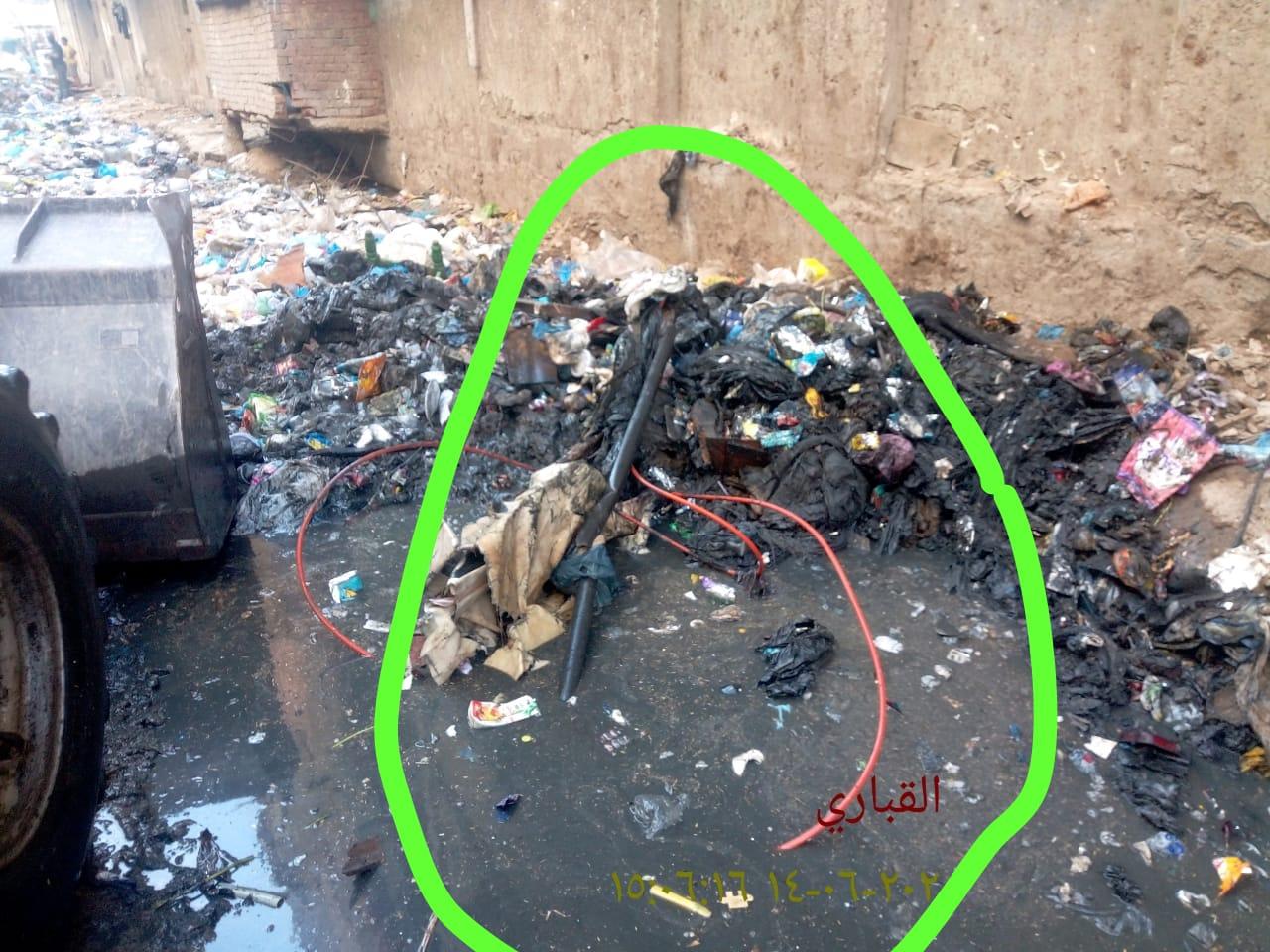 القمامة بمساكن المتراس (1)