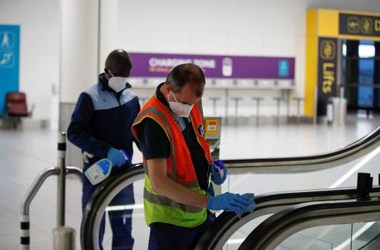 تطهير مطار جاتويك
