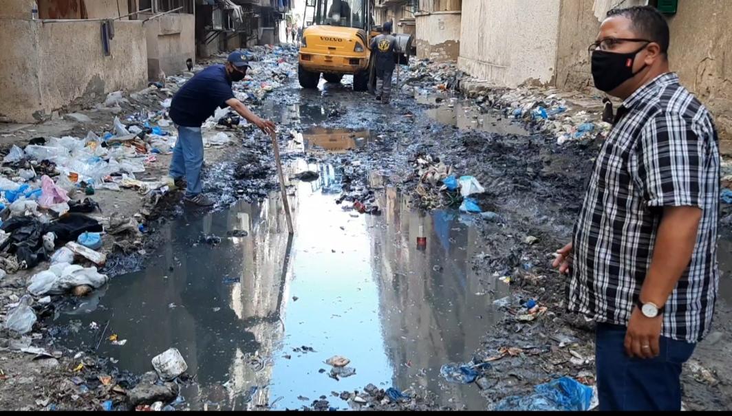 القمامة بمساكن المتراس (3)