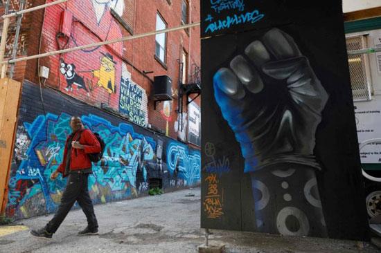 جداريات في تورونتو ضد العنصرية (2)