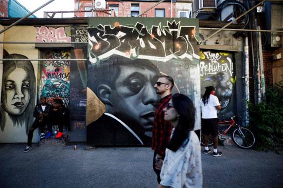 جداريات في تورونتو ضد العنصرية (14)
