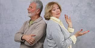 الطلاق بين كبار السن