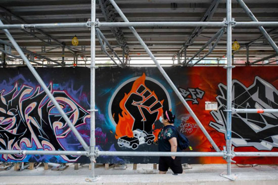 جداريات في تورونتو ضد العنصرية (6)