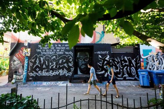 جداريات في تورونتو ضد العنصرية (5)