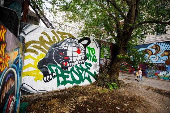 جداريات في تورونتو ضد العنصرية (11)