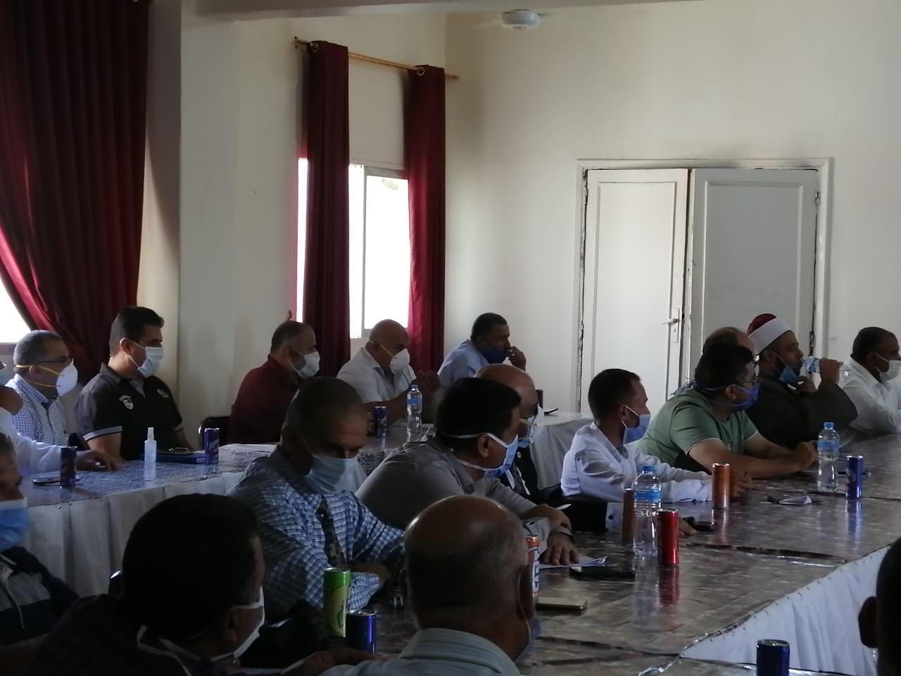 اجتماع رؤساء قرى شمال سيناء (4)