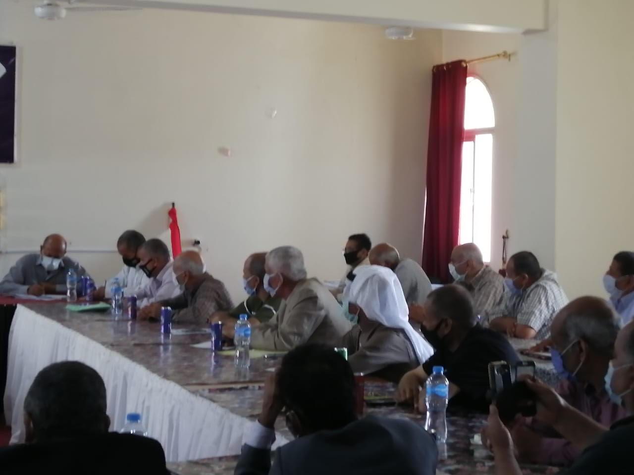 اجتماع رؤساء قرى شمال سيناء (6)