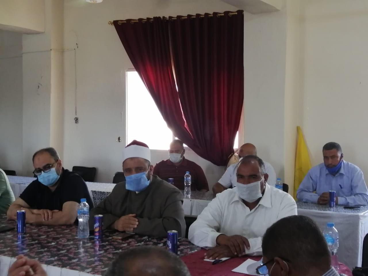 اجتماع رؤساء قرى شمال سيناء (2)