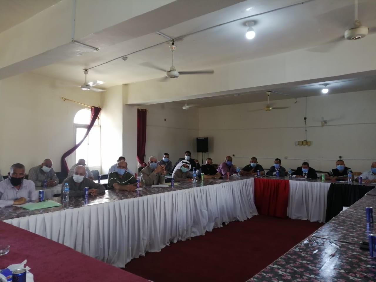 اجتماع رؤساء قرى شمال سيناء (3)