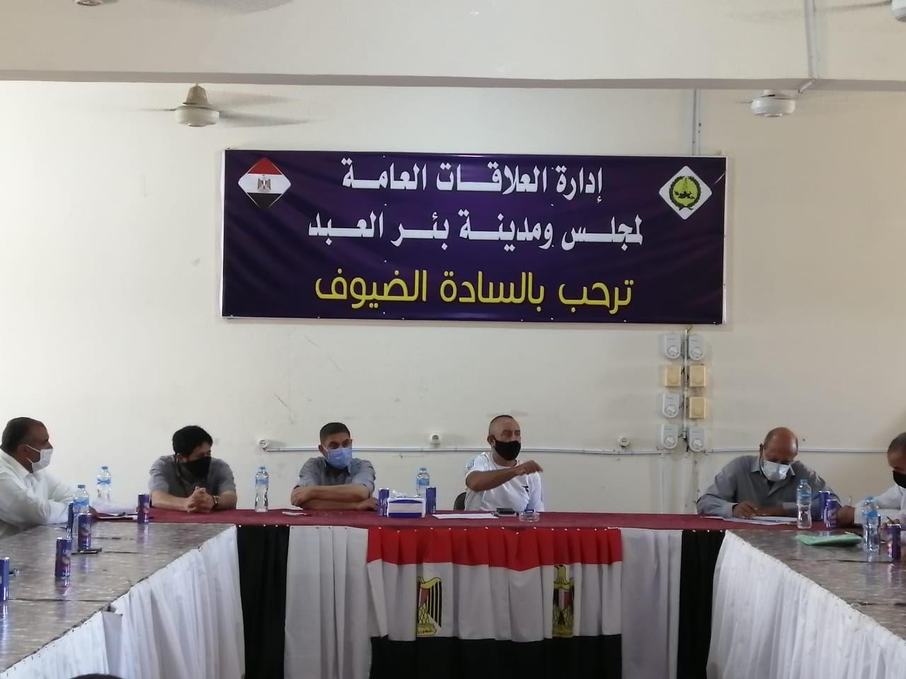 اجتماع رؤساء قرى شمال سيناء (5)