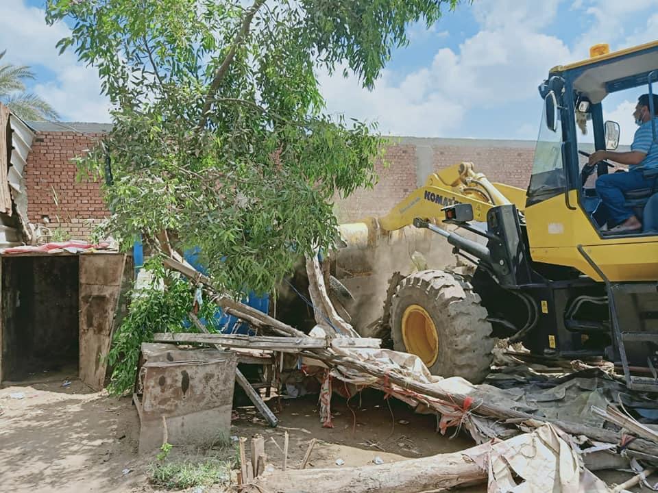 إزالة التعديات على الأراضى الزراعية (2)