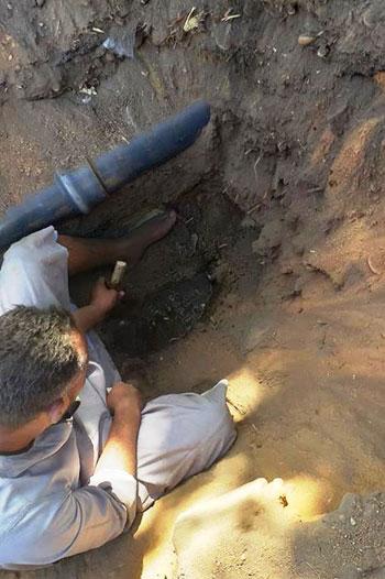 تجديد شبكات مياه الشرب بأسوان (7)