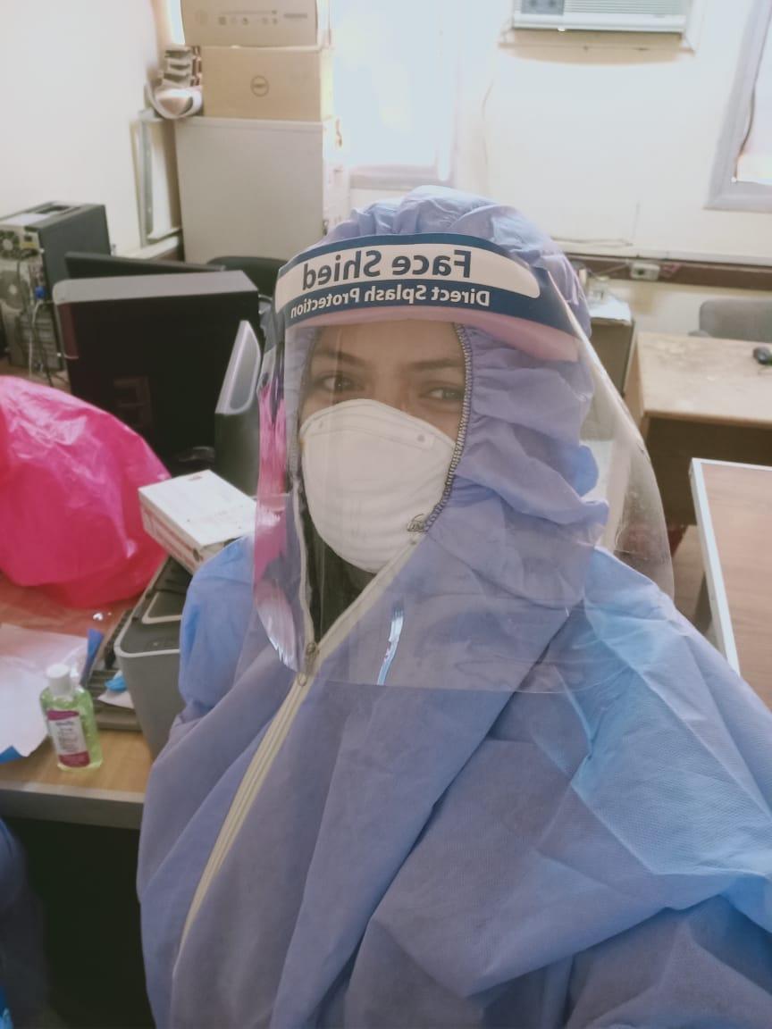 الدكتورة نهال مصطفي مدير إدارة العلاج الحر بالأقصر