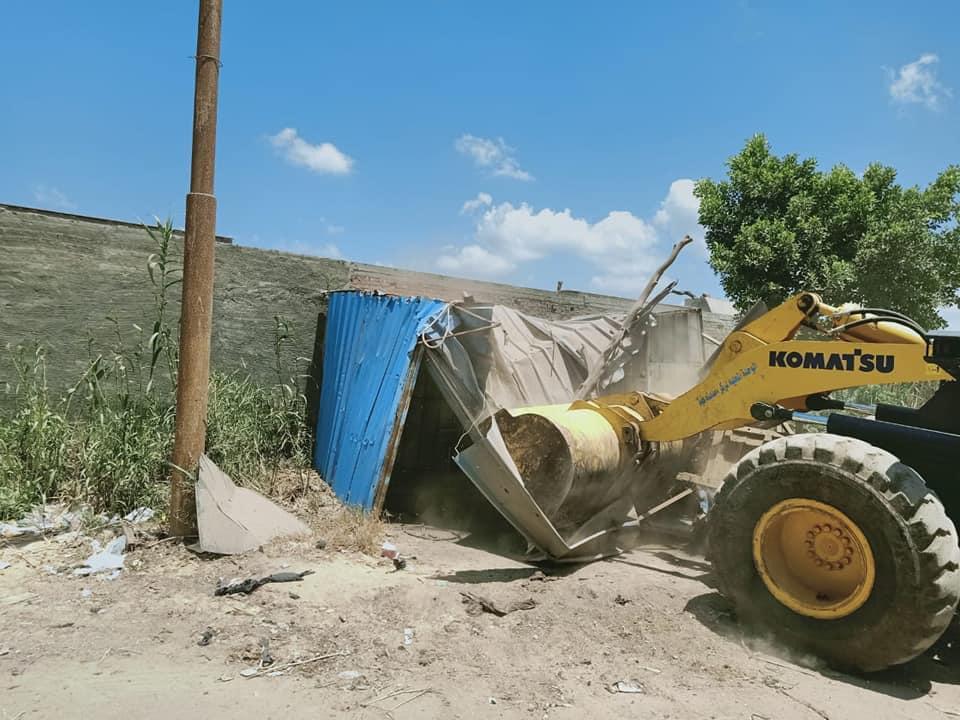 إزالة التعديات على الأراضى الزراعية (3)