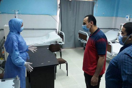 وكيل صحة سوهاج يتفقد مستشفى العسيرات  (3)