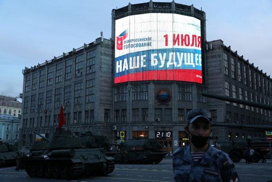 روسيا تستعد للاحتفال بعيد النصر