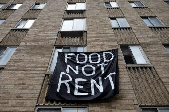 لافتة الطعام لا يتم تأجيره