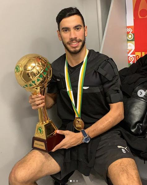 ناصر ماهر مع كأس أمم أفريقيا