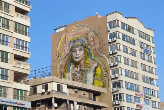 تجميل شوارع القاهرة  (1)