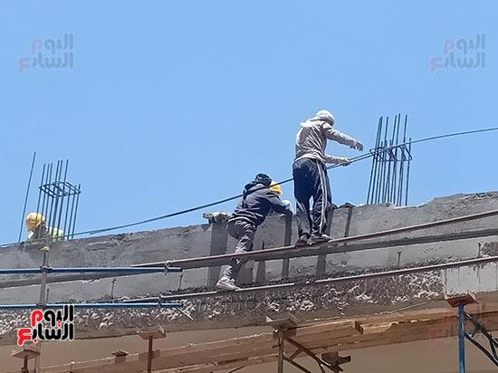 تطوير طريق صلاح سالم وردم نفق العروبة (27)