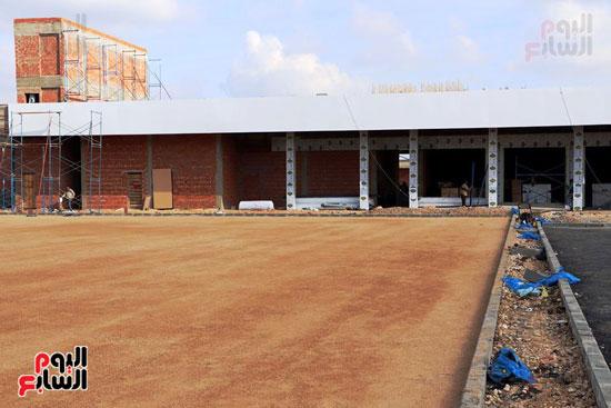 انتهاء تنفيذ مشروعات بالمنطقة اللوجستية (2)
