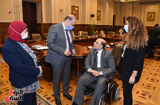 الشهداء وذوى الإعاقة فى قلب البرلمان (13)