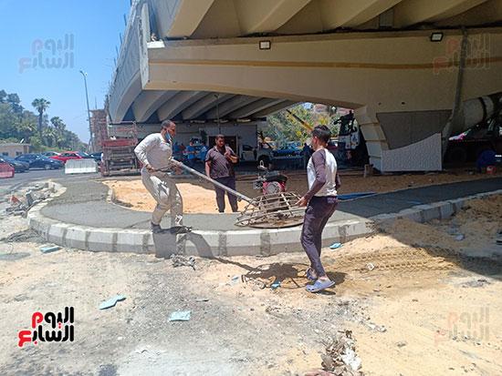تطوير طريق صلاح سالم وردم نفق العروبة (35)