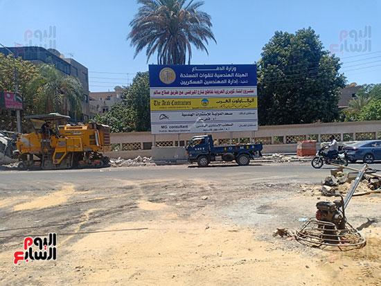 تطوير طريق صلاح سالم وردم نفق العروبة (34)
