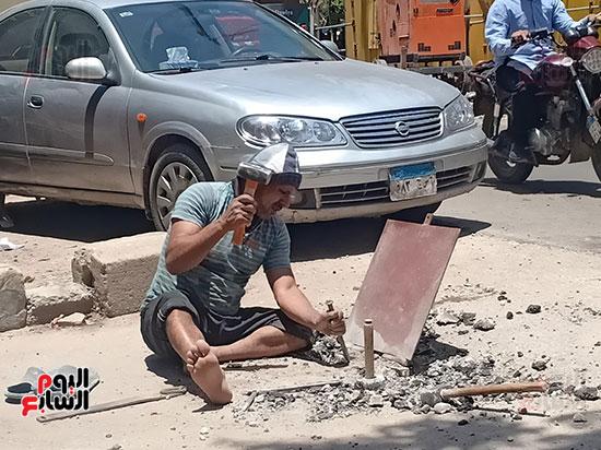 تطوير طريق صلاح سالم وردم نفق العروبة (31)