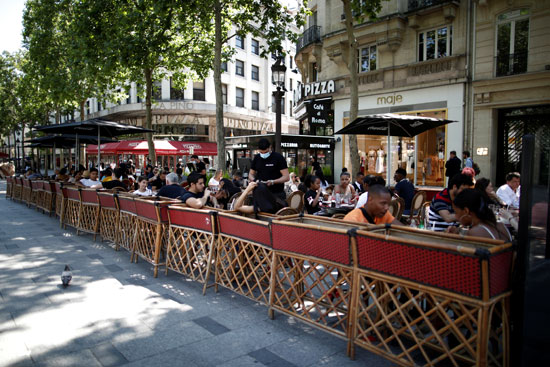 مقاهى باريس