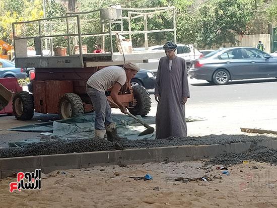 تطوير طريق صلاح سالم وردم نفق العروبة (41)