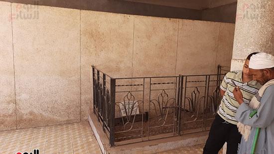 ضريح الشيخ محمد صديق المنشاوى (2)