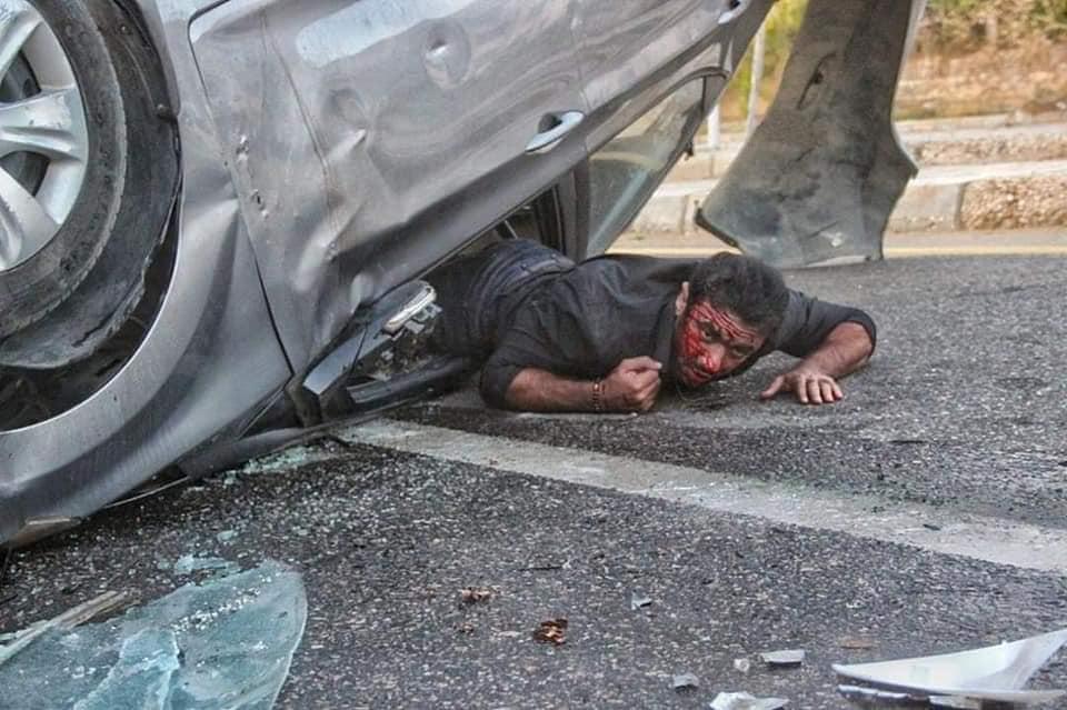 أحمد العوضى يشوق جمهوره بصور من كواليس مسلسل شديد الخطورة  (2)