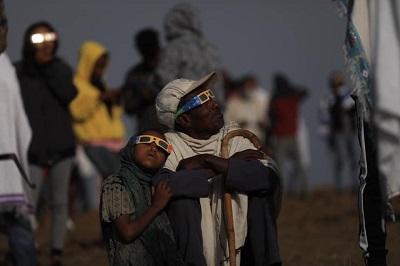 كسوف الشمس فى إثيوبيا (6)