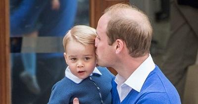 الأمير وليم وابنه جورج