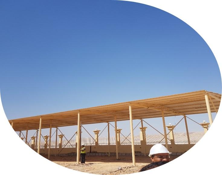 مشروع انشاء وتطوير منطقة اثار مقابر الحواويش-اخميم-سوهاج