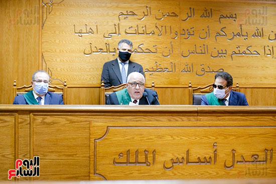 المحكمة تلتزم بالاجراءات الاحترازية