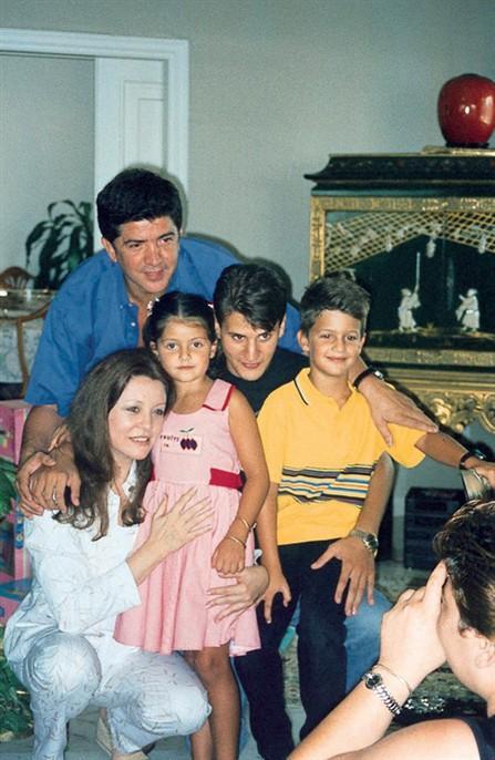 جورجينا رزق وعائلتها