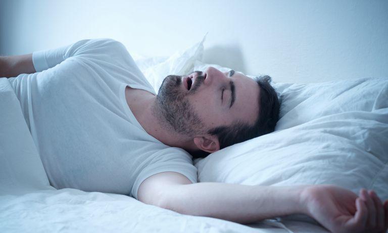 علاج توقف التنفس أثناء النوم 1