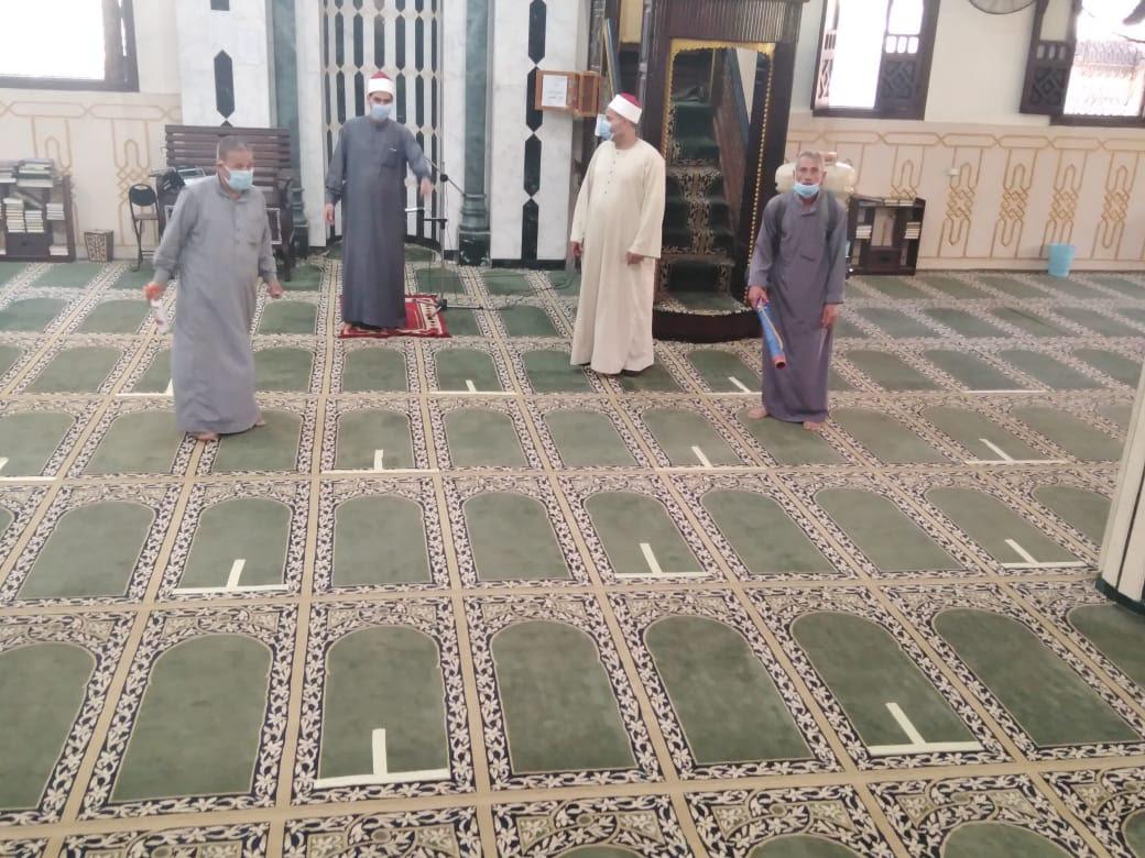 مساجد مصر تستعد (7)