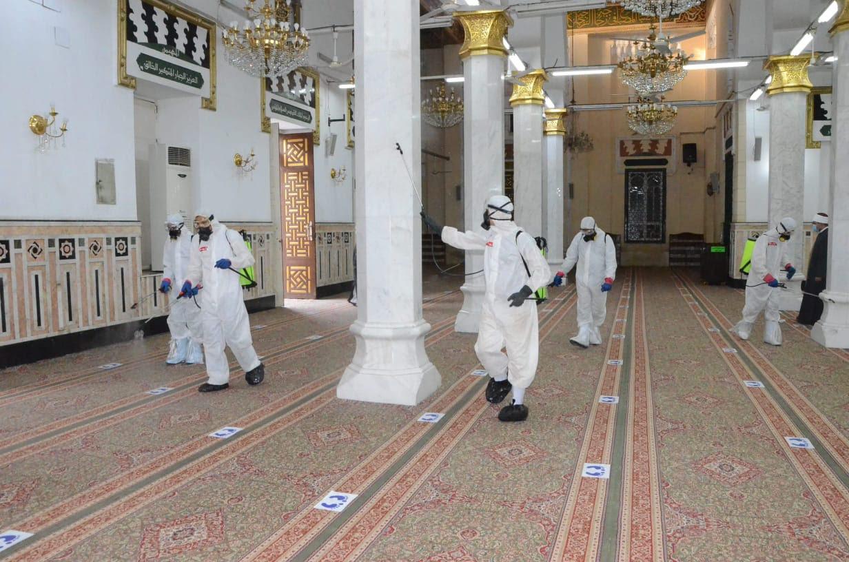 مساجد مصر تستعد (2)