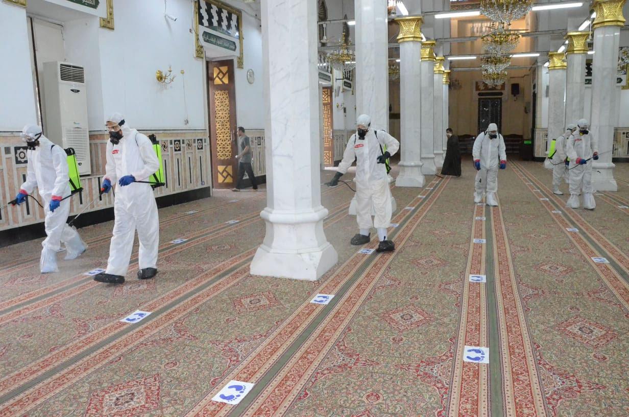مساجد مصر تستعد (1)