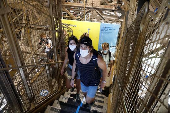 اعادة فتح برج ايفل أمام الجمهور