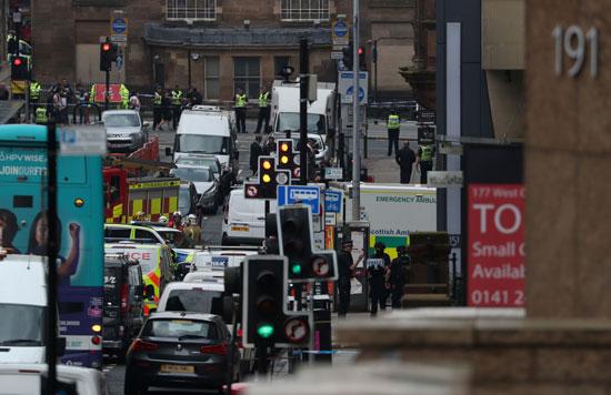 الشرطة البريطانية تنتشر