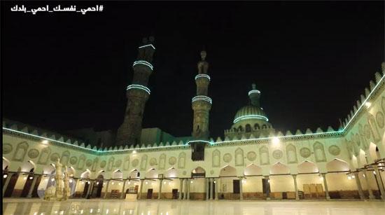 مشهد للجامع الأزهر